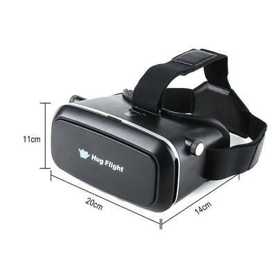Hugflight 3D Virtual Reality VR Brille Box Headset mit Bluetooth Game Controller