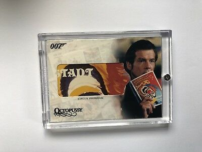 James Bond Relic - Circus Program - RC05