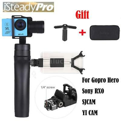 Hohem ISteady Handheld 3 Axis Gimbal Stabilizer with Phone Clamp For GoPro Hero
