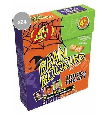 913339.24 24X 45G Boxes Of Bean Boozled Trick Or Treat Jelly Beans Halloween