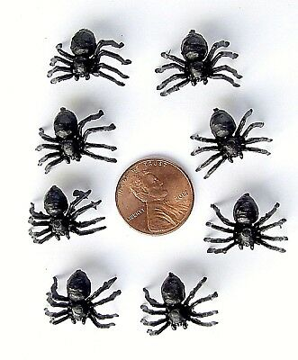 9 New Miniature 1:12 Doll House Black Spider Picnic Table Fairy Garden Patio Pet
