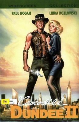 Crocodile Dundee II 2 DVD New and Sealed Australia All Regions