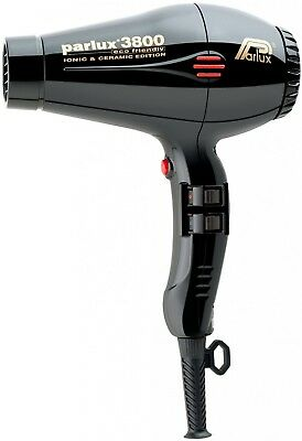 Parlux 3800 Eco Ionic Ceramic Edition Hair Dryer Black