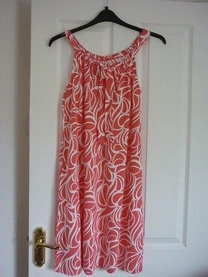 6d1eac88bf9 Boden Frances Jersey Dress Coral Reef Swirl. Uk 18, Eur 44-46,