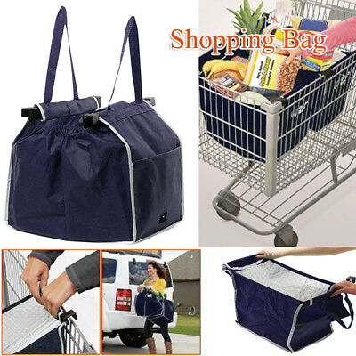 AU Grocery Shopping Bag Thermal Tote Eco-friendly Reusable Supermarket Large LOT