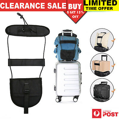 Adjustable Tape Belt Tie Carry On Bag Strap Luggage Bungee Travel Suitcase Strap