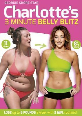 Charlotte's 3 Minute Belly Blitz  DVD New and Sealed Australia Region 4