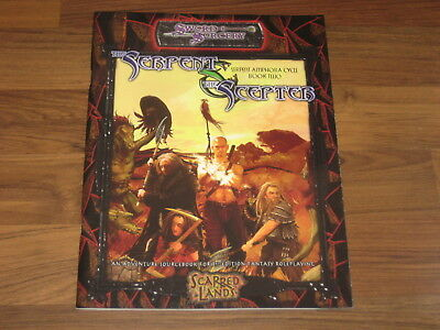 D&D 3.5 Scarred Lands The Serpent & the Scepter Sourcebook Sword & Sorcery New