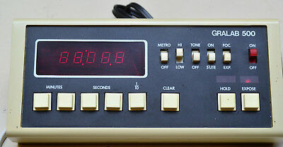 Gralab 500 LSI Digital Darkroom Enlarger Timer DIMCO-GRAY All functions tested.
