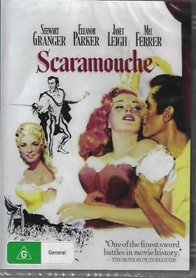 Scaramouche DVD New and Sealed Australia All Regions