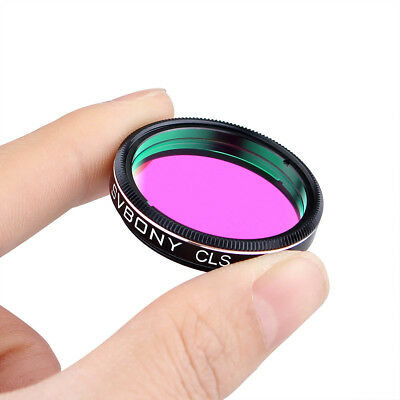 """SVBONY 1.25"""" CLS City Light Suppression Round Filter for Astronomy Photography"""