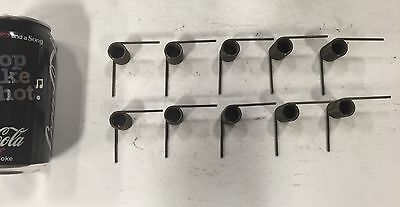 .080 Wire Torsion Spring Lot Of 10