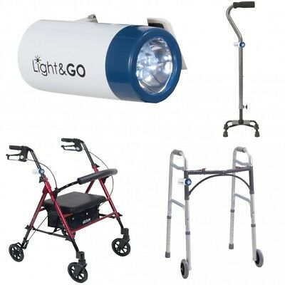 Disability Accessories Wheelchair Adult Walker Rolator Cane Light Senior Aids