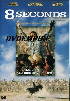 8 Seconds DVD Luke Perry New and Sealed Australia