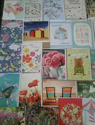 50 multi cards, wholesale joblot greeting cards