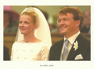 ***DANKSAGUNG 2004***PRINZESSIN MABEL-PRINZ JOHAN FRISO-ROYAL WEDDING-Monarchie