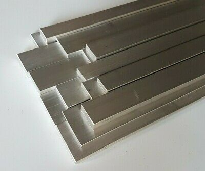 Metal Flat Bar Plate Aluminium, various sizes, 50mm upto 1000mm (1 Metre) Long