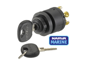 Narva 3 Position Marine Ignition Switch: 64008