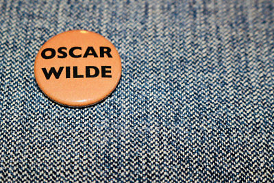 Oscar Wilde - Handmade Button Badge - Classics - Dorian Grey - De Profundis