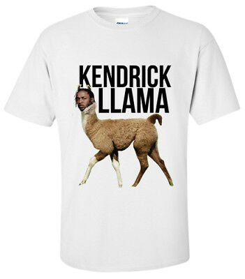KENDRICK LAMAR LLAMA  T-Shirt SMALL, MEDIUM,LARGE, XL