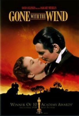 Gone with the Wind (1939) Clark Gable, Vivien Leigh DVD [DISC ONLY]