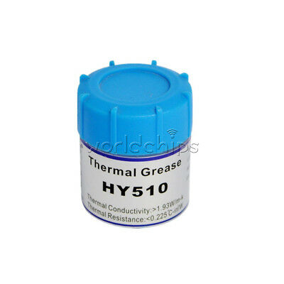 HY510 10g Grey Thermal Conductive Grease Paste Heat for CPU GPU Chipset Cooling