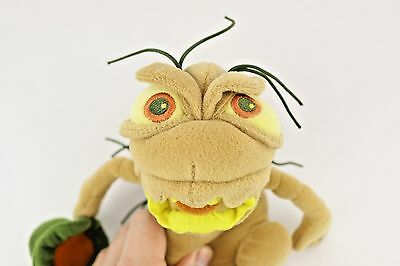 "P.T. Flea Plush Stuffed Disney Store A Bugs Life Movie Toy 8"" Bean Bag Bug"
