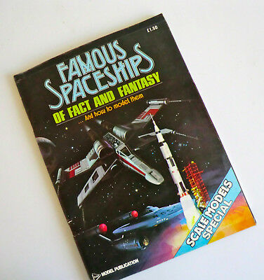 Rare 1St Ed Book - Famous Spaceships Of Fact And Fantasy And How To Model Them