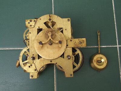 Antique Ansonia open escapement ? clock movement for spares or repair parts