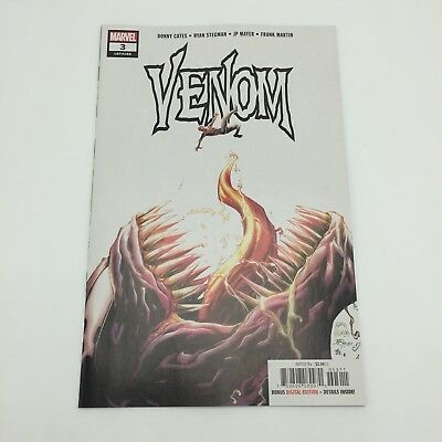 Venom #3 2018 Ryan Stegman Donny Cates 1st app. of Knull the Symbiote God NM