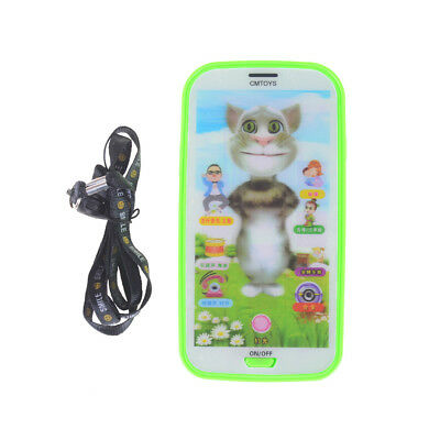 1PC Kids Baby Simulator Music Phone Touch Screen Educational Learning Toy GiftPL