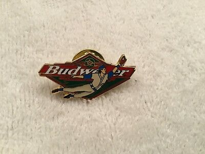 BUDWEISER & Baseball Hat / Lapel Pin Bud