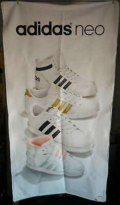 32x61 Adidas Neo Shoe Promo Store Banner Tapestry Display Hanging Poster Sign