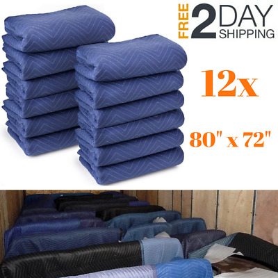 Furniture Removal Blankets Household Protective For Moving Freight Shipping Lot
