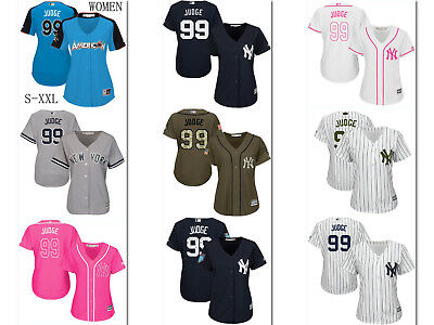 best website d5129 82f3d Aaron Judge New York Yankees Jersey Women Majestic MLB Cool Base All-Star  Game