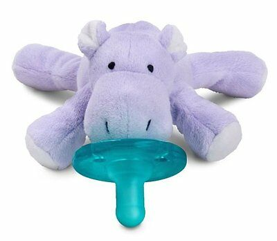 NEW   Wubbanub HIPPO Infant Baby Soothie Pacifier Binky   FREE SHIPPING