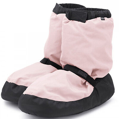 Bloch Women's Pink Warm Up Booties - Size Small (4-6)