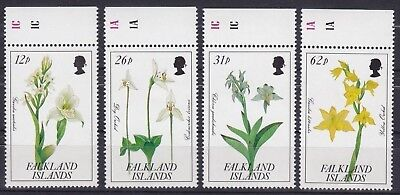 Falkland-Inseln Mi-Nr. 534 - 537 **, Orchideen / Orchids (11 ME)
