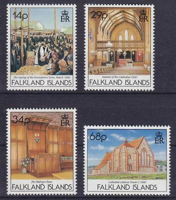 Falkland-Inseln Mi-Nr. 557 - 560 **, Kathedrale / Cathedral (11 ME)
