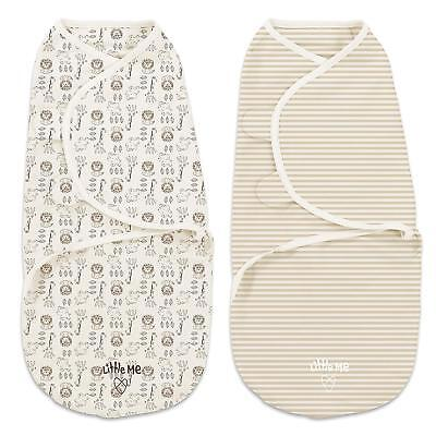 SwaddleMe Little Me Swaddle 2-PK Size Small (Damaged Packaging)