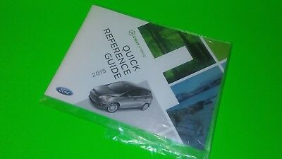 2015 Ford C-Max Hybrid Quick Reference Guide Booklet