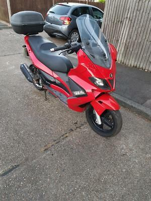 GILERA NEXUS 300cc RED 2008