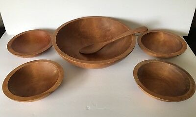 Baribocraft Canada Vintage Shallow Salad Bowl Set Of Six Pieces