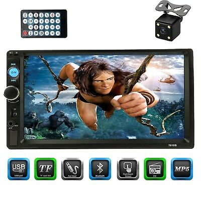 """CACA 7"""" inch Double Din Touchscreen in Dash Stereo Car Receiver Audio Video"""