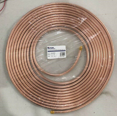"1/2"" x 50ft Copper Coil Tubing HVAC Refrigeration for Mini Split"