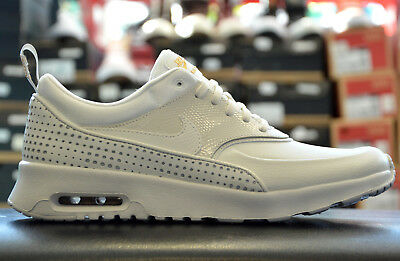 low priced 78f08 b8186 Nike Air Max Thea Chaussures Femme Fille de sport baskets Summit blanc 90