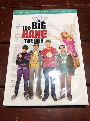 The Big Bang Theory Complete second season DVD sealed new