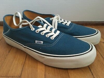 2f9016ec9c9710 VANS AUTHENTIC SF - Size 13 - Salt Wash Corsair Blue - Vault - Skate ...