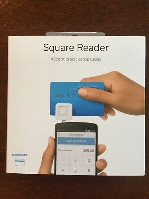 Square Credit Card Reader For Iphone Smart Phone Android Mobile Pay Anywhere