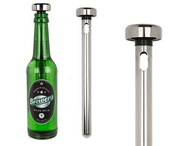 Stainless Steel Chiller Stick Rod Drinks Wine Beer Cooler. Out of the Blue